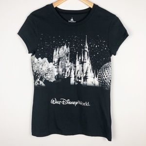 Walt Disney World Authentic Parks Sparkle Shirt M